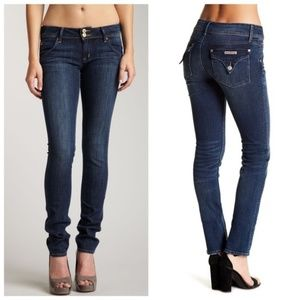 HUDSON / Collin Flap Skinny Jean / Med Wash / EUC